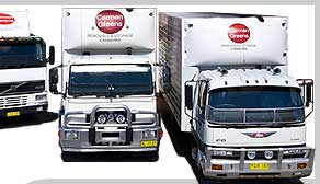 Carmen Greens Removals Trucks